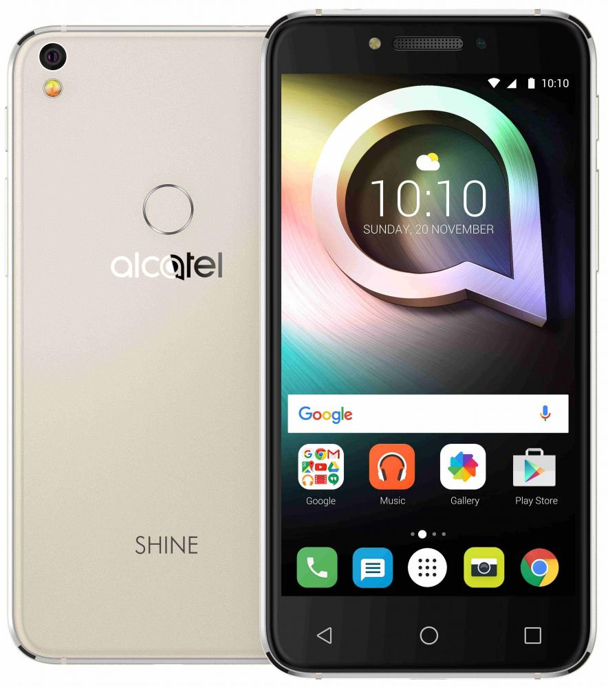 Смартфон Alcatel Shine Lite 5080X 16GB (золотистый)