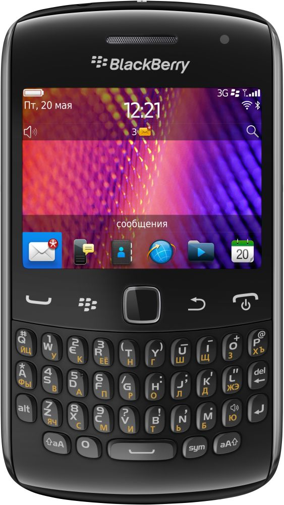 Смартфон BlackBerry Curve 9360 (черный)