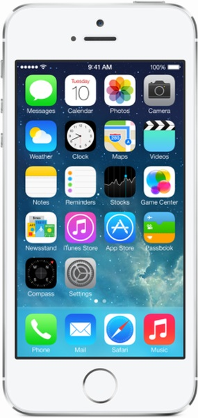 Смартфон Apple iPhone 5s 16GB (серебристый)