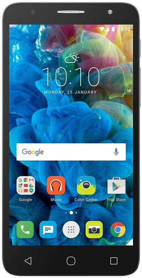 Смартфон Alcatel One Touch Pop 4 Plus 5056D 16GB (серебристый)