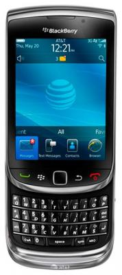 Смартфон BlackBerry Torch 9800 (черный)
