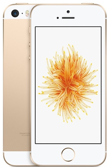Смартфон Apple iPhone SE 16GB (золотистый)